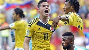 Senegal vs Colombia: Niang hay Rodriguez sẽ tỏa sáng? Trực tiếp VTV2 (21h, 28/6)