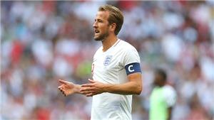 Hy vọng của tuyển Anh đang nằm trên vai Harry Kane