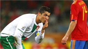 Gặp Tây Ban Nha, Ronaldo vẫn chỉ như một đứa trẻ?