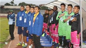 Sài Gòn FC họp hơn 2 tiếng để có 3 điểm trước HAGL