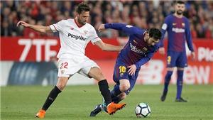 Messi là nỗi ám ảnh của Sevilla, khó có bất ngờ ở chung kết cúp Nhà vua