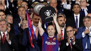 Iniesta là 'bản hùng ca' của Barcelona
