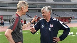 Nhìn đi nhìn lại, Ancelotti là người lý tưởng nhất để thay Wenger ở Arsenal