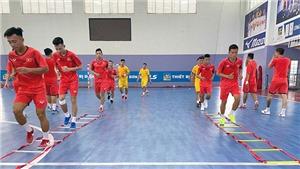 Futsal Việt Nam tự tin hoàn thành mục tiêu lớn
