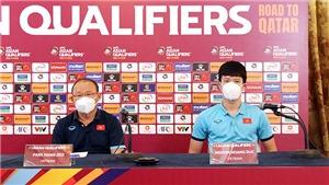 Quyết tâm của HLV Park Hang Seo