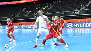 Tuyển futsal Việt Nam tiếp tục ghi tên vào lịch sử