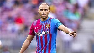 Vấn đề của Barcelona: Braithwaite có thể nghỉ hết năm