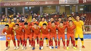 Futsal Việt Nam vs Brazil: Cùng nhảy điệu Samba!