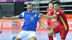 Futsal Việt Nam thua đậm Brazil là bình thường!