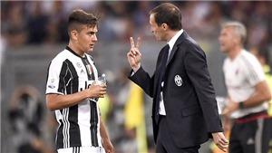 """Juventus thua đậm ở cúp giao hữu: Chờ """"Dybala của Allegri"""""""