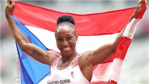 Camacho-Quinn giành HCV 100m rào nữ: Từ thảm họa Rio tới chiến tích Tokyo