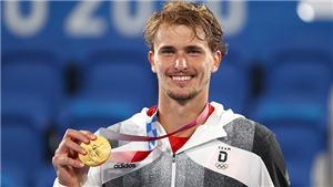Alexander Zverev giành HCV tennis đơn nam: Cột mốc cho người Đức, niềm vui của… người Nga