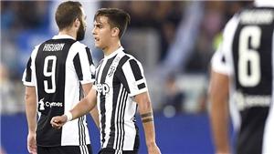 Higuain vẫn hay còn Dybala là vấn đề đau đầu nhất của Juve hiện tại