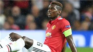 Man United suy yếu hẳn khi mất Pogba, Lukaku cũng bị ảnh hưởng