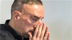 Frank Ribery bật khóc giữa tòa vì tranh chấp 3,5 triệu euro