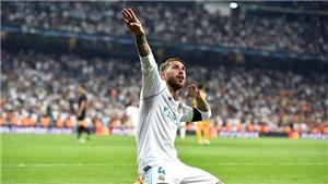 Ramos xứng danh chiến binh bất tử Dải thiên hà
