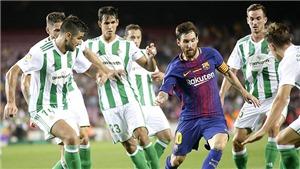Không còn Neymar, Suarez treo giò, Messi đang là tất cả với Barca