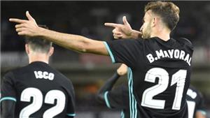 Zidane lại thắng cược và vận may của Real Madrid