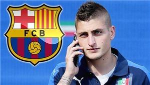 Đừng tin Barca sẽ mua Verratti