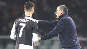 Sarri muốn Ronaldo đá trung phong: Sai lầm hay đúng đắn?