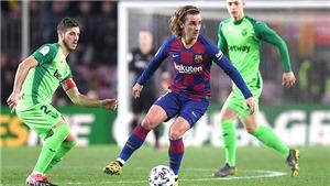 Trực tiếp bóng đá Barcelona vs Leganes: Nụ cười Quique Setien. Bóng đá TV