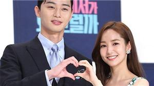 Sao phim 'Thư ký Kim' Park Min Young và Park Seo Joon đã hẹn hò bí mật 3 năm?