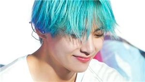 V (BTS) biến hóa màu tóc với tốc độ 'chóng mặt' từ xanh, đỏ, đến tím, vàng