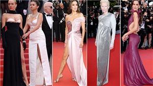 Thảm đỏ LHP Cannes 2019: Selena Gomez 'đẫy đà', Romee Strijd mặc váy 'xuyên thấu'