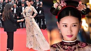 Thảm đỏ LHP Cannes: Sao 'Diên Hy Công Lược' làm 'trò lố', dân mạng Trung Quốc xấu hổ, bất bình