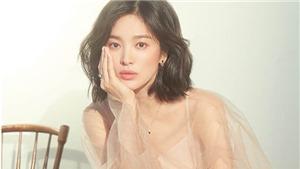 Song Hye Kyo trải lòng với báo giới trước 'bão' tin đồn ly hôn
