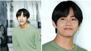 V BTS diện quần nâu sồng tới xem phim The Devine Fury của bạn thân Park Seo Joon