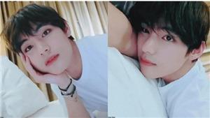 V Live: V của BTS khiến hàng triệu trái tim ngừng đập với vẻ đẹp như thiên thần