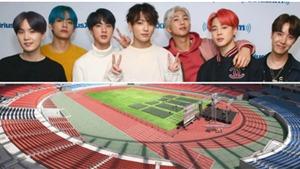 BTS không trình diễn tại Đại hội Thể thao Quốc gia lần thứ 100, hơn 7.000 vé đặt trước bị hủy