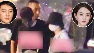 Triệu Lệ Dĩnh thầm lặng tới nhà hàng dự tiệc sinh nhật chồng