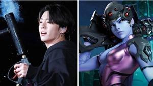 Game thủ Jungkook cực 'pro' trong trò chơi 'Overwatch'