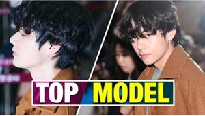 V BTS một lần nữa lại biến sân bay thành sàn catwalk của riêng mình