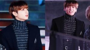 Jungkook BTS lại 'hớp hồn' fan trong trang phục đón Năm mới