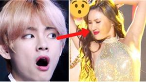 Phản ứng của từng chàng trai BTS khi xem màn diễn bốc lửa của Hwasa Mamamoo
