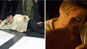 Suga BTS nhiều lần thể hiện tư thế nằm của nàng Rose trong Titanic