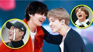 Câu chuyện bi kịch của Jimin và V khiến các chàng trai BTS cười không thể nhịn được