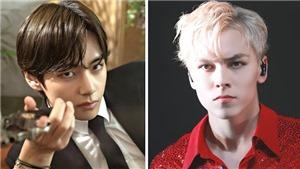 10 nam thần K-pop 'mắt sắc như dao cau': V BTS, Kai EXO, Taeyong NCT