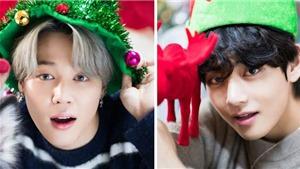 Fan phấn chấn đón Noel hơn khi ngắm chùm ảnh Giáng sinh của BTS