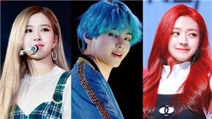Màu tóc thay đổi như tắc kè hoa của thần tượng K-pop: BTS, Twice, Blackpink…
