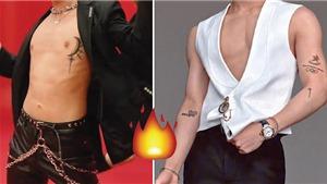 10+ nam thần Kpop không ngại phô hình xăm cơ thể: Jungkook, Jimin BTS…