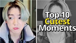 Fan chọn Top 10 khoảnh khắc 'cute' nhất của Jungkook BTS