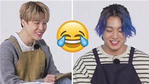 Jungkook và Jimin là bộ đôi hài hước cực 'cute' trong Run BTS