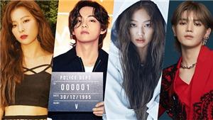 V BTS và 10 thần tượng K-pop có vẻ ngoài khác hẳn cá tính