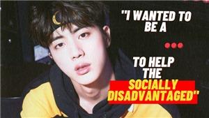 BTS: Trước khi trở thành ngôi sao hàng đầu, Jin từng ước mơ làm phóng viên