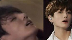 BTS khóc ròng khi Jungkook quỵ ngã sau buổi diễn ở Chile