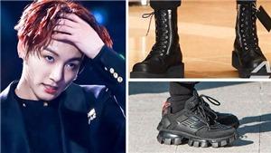 Ngắm những đôi giày cực kỳ cá tính của Jungkook BTS